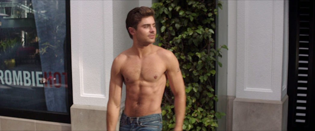 Dave Franco, Zac Efron, Craig Roberts, Seth Rogen  Naked Extras In Neighbors 2014  Dcs Men -2561